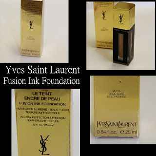 MichelaIsMyName: Yves Saint Laurent Fusion Ink Foundation REVIEW