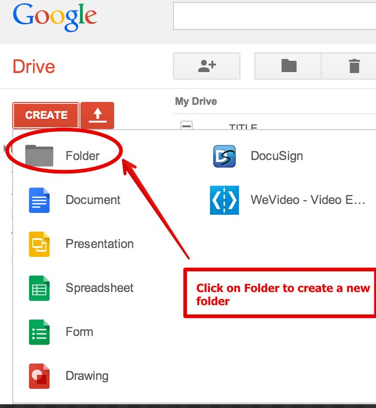 how to share a folder with google drive