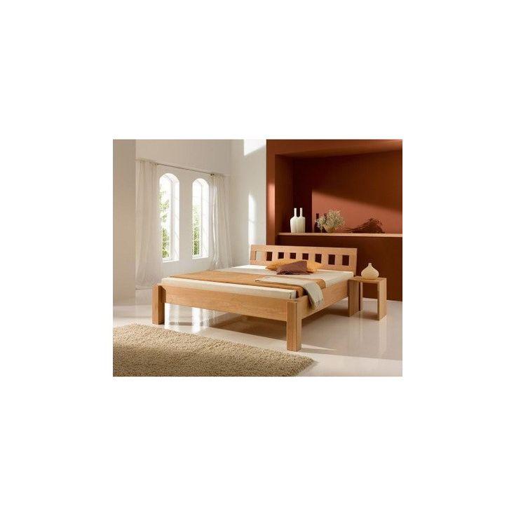 Łóżko z drewna Bend