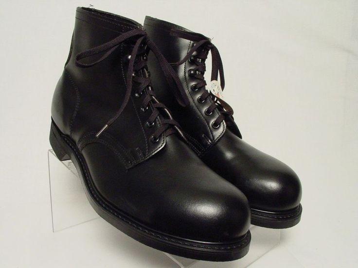 new usa vintage knapp 11 5 d black safety steel toe 6
