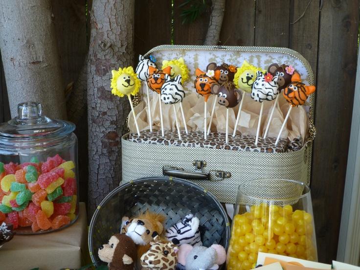 Animals cake pops