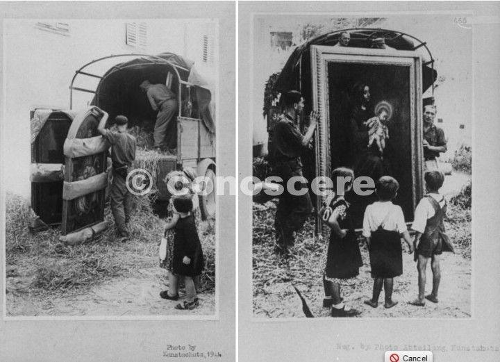 tedeschi mentre rubare dipinti della galleria degli uffizi e l'accademia
