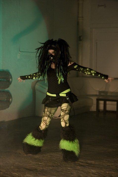 Cyber Girl Wallpaper Pong Dance Queen Cyber Goth Industrial Dance