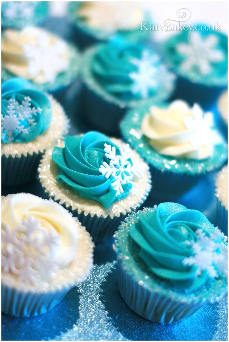 Frozen cupcakes.  I like these, but would also request ones with purple frosting.