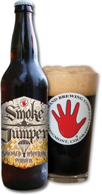 Smokejumper : Left Hand Brewing Company Smoked Imperial Porter : 8.80% ABV