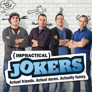 EXCLUSIVE: Impractical Jokers Season 1 DVD Clip 'Food Off Plates' -- Q, Sal, Joe and Murr provide commentary for this prank where they try to steal people's food. The entire first season is available on DVD November 26th. -- http://wtch.it/SJXUk