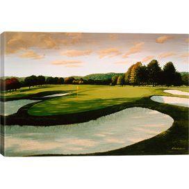 Golf Course 8 Canvas Print