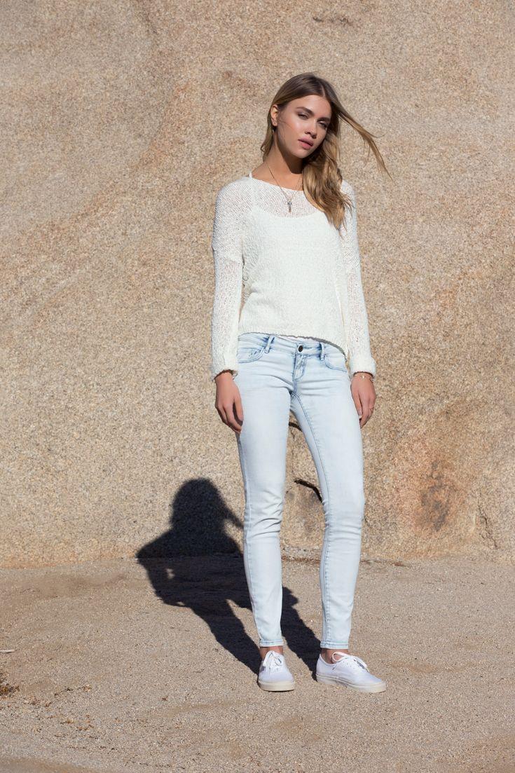 Mathilda Bernmark Wears The Vanilla Sky Low Waist Jegging Iweargarage List StyleGarage ClothingVanilla