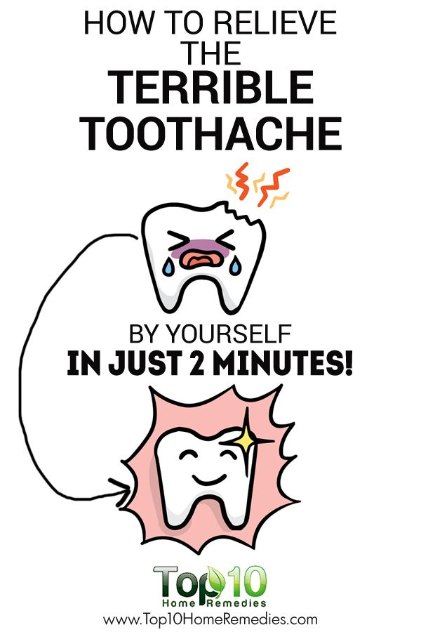 How To Relieve The Terrible Toothache By Yourself In Just 2 Minutes!