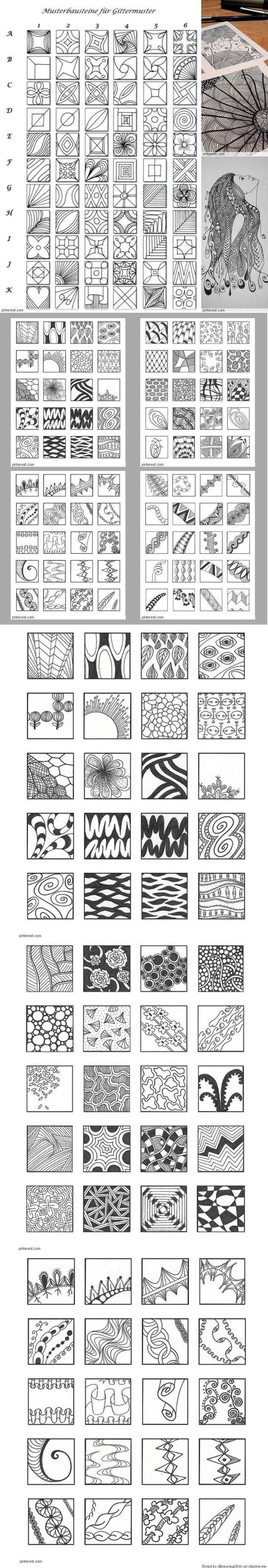 Zentangle Pattern Ideas Best Design Inspiration