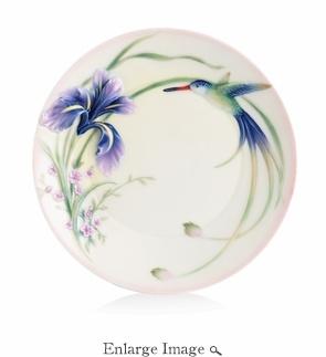Franz Long Tailed Hummingbird Plate