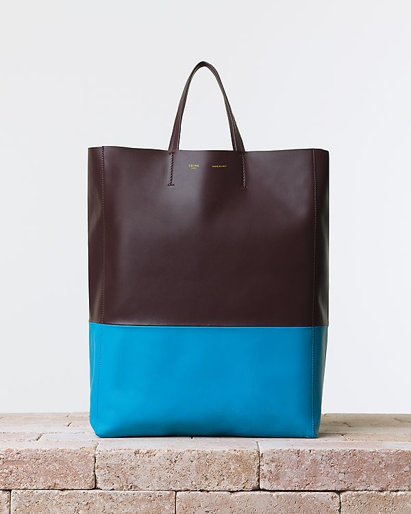 colour block leather.  CÉLINE | Summer 2014 Leather goods and Handbags collection
