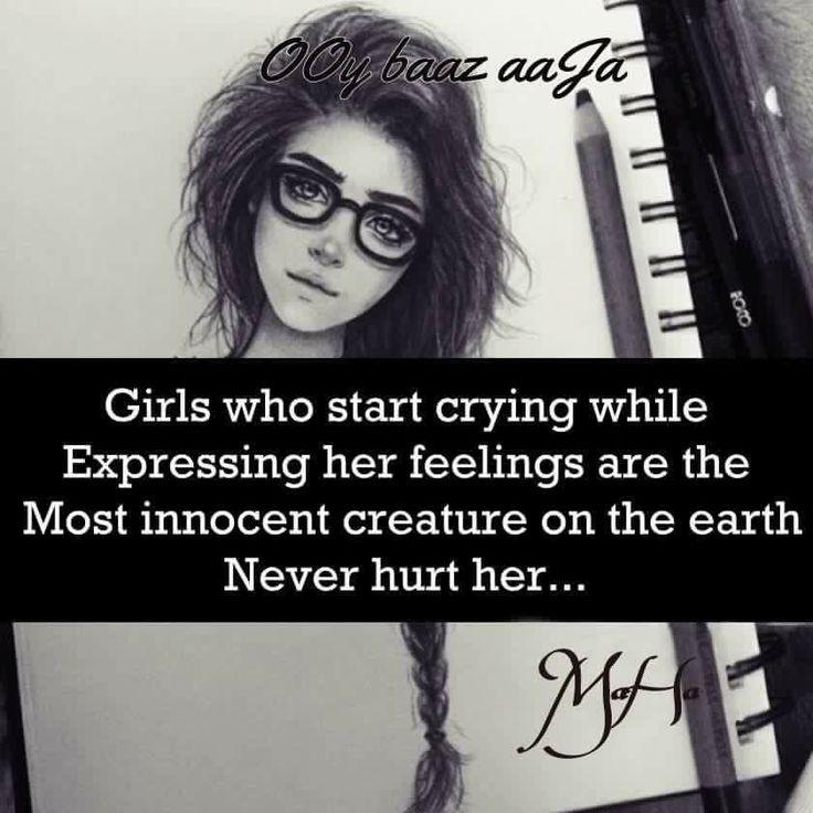 Never hurt her