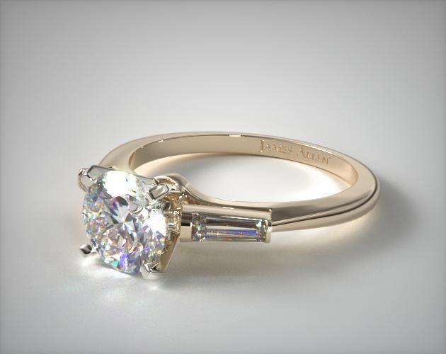Diamond Ring With Heart Diamond