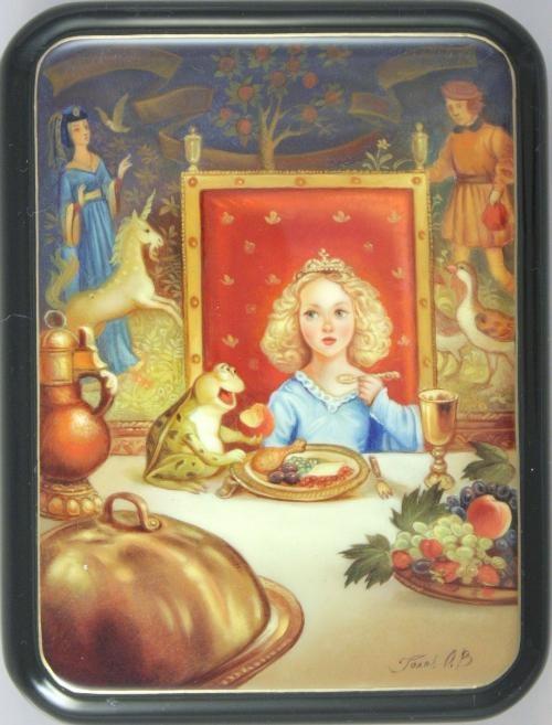"""""""Alice in Wonderland"""" by Golov, Fedoskino"""