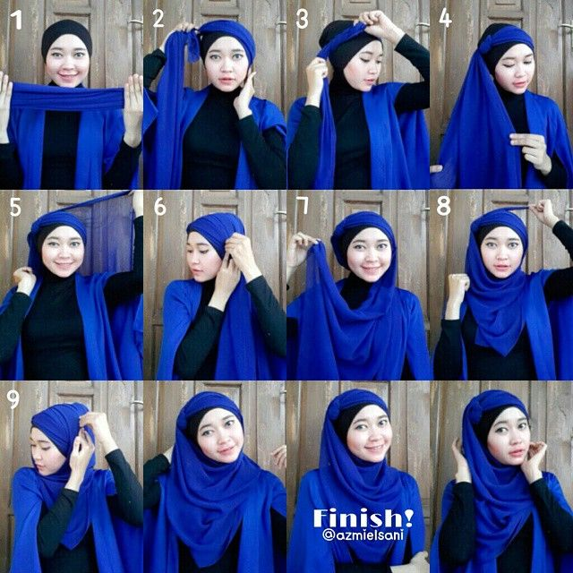 What a gorgeous and unique hijab look, this is the first time I stumble upon this style, it's a mixture of an Arabian and classy look, I love the knot idea and how it turned up into something new! Follow…