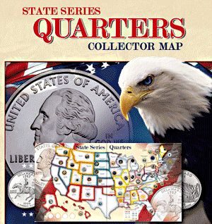 11 best State Quarter Maps images on Pinterest Coins 50 states