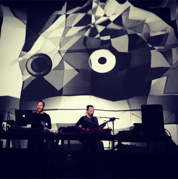 Atoms For Peace members Thom Yorke and Nigel Godrich perform DJ Set in Paris Setlist and Recap