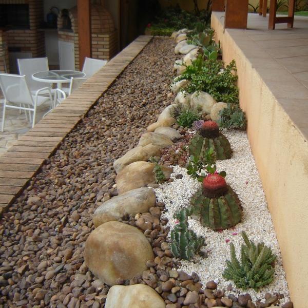 pedras jardim baratas : pedras jardim baratas:sobre Jardim Com Pedras no Pinterest