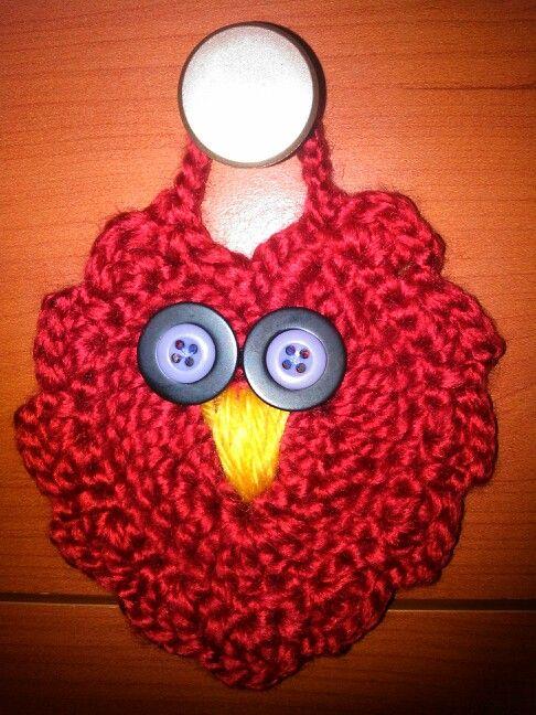 Owl heart for Valentine:)