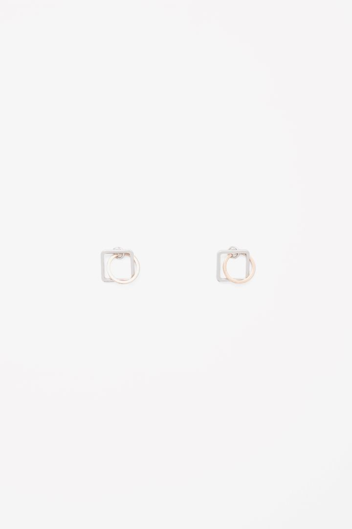 COS | Shaped pendant earrings