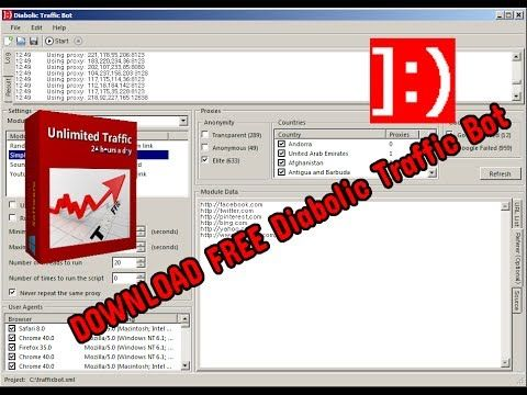 Diabolic Traffic bot 6 30 Crack Free Download - TechWorld - Most