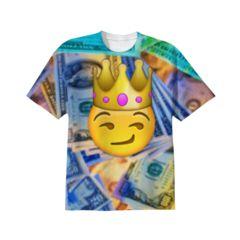King Emoji T-shirt
