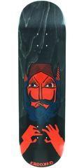 Krooked Dan Time Will Tell Skateboard Deck - Black - 8.75in x 32.75in