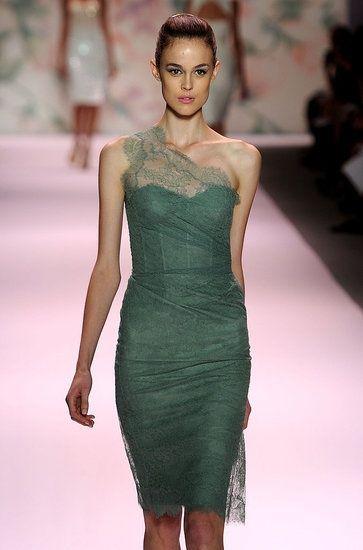 Emerald Green Dress. <3