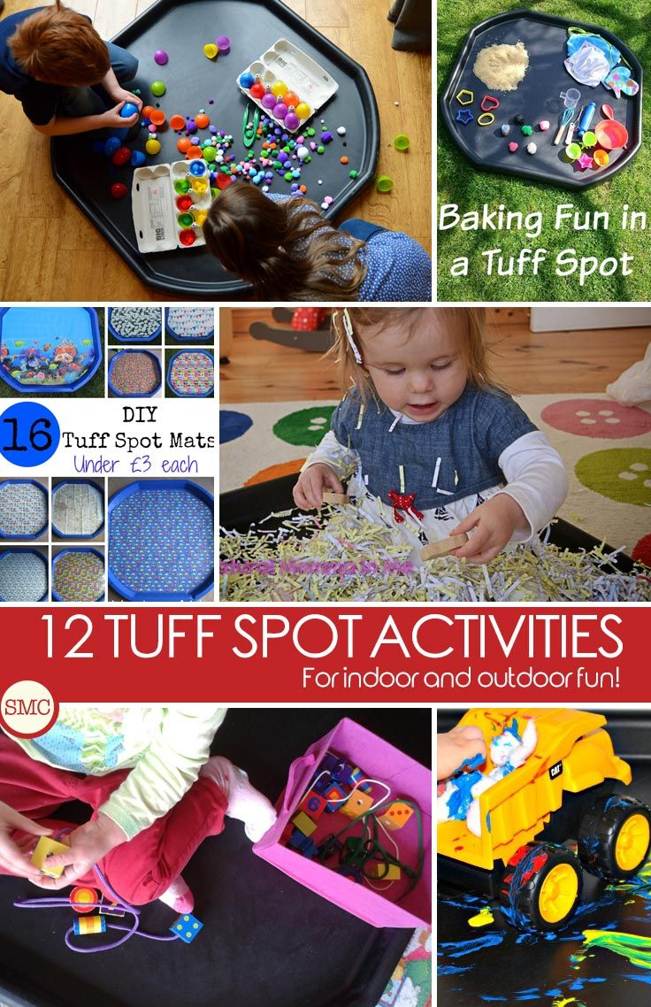 Love these Tuff Spot activities - especially the messy play ones! Click on the image to see them all.