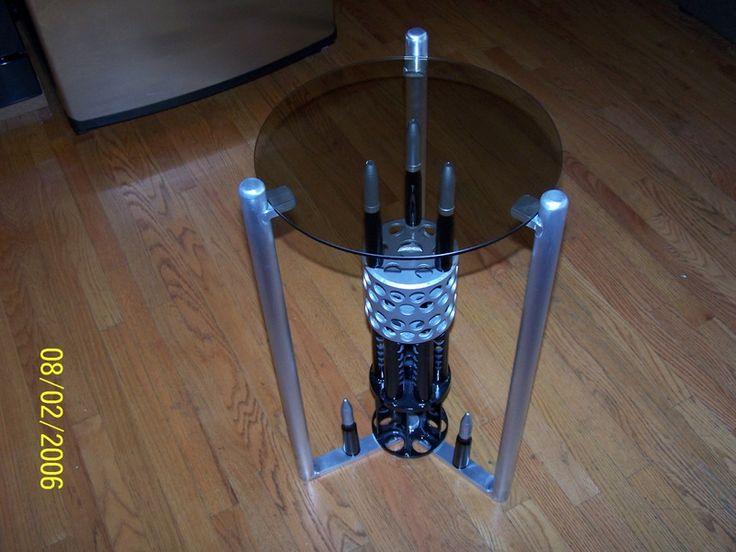 f4  gun muzzel table