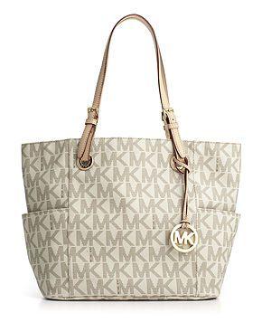 MICHAEL Michael Kors Handbag, Signature Tote in brown!