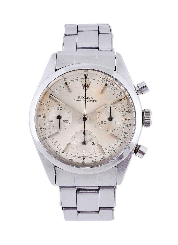 Lot: Rolex, 'Pre Daytona' Chronograph, ref. 6238, Lot Number: 0210, Starting Bid: £9,900, Auctioneer: Dreweatts Donnington Priory, Auction: Fine Jewellery, Watches & Silver, Date: November 24th, 2016 UTC