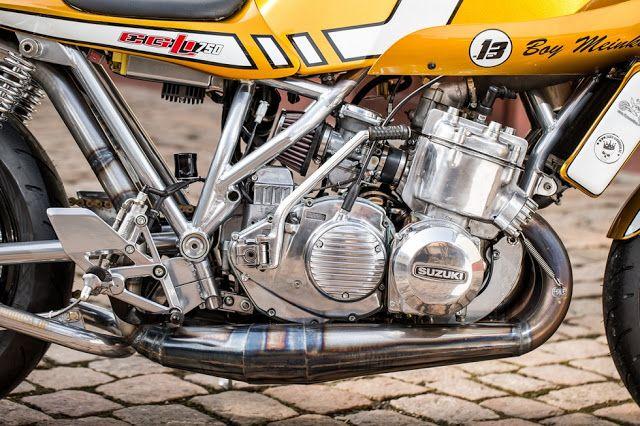 """Suzuki GT 750 """"Wasserbüffel"""" - RocketGarage Cafe Racer"""