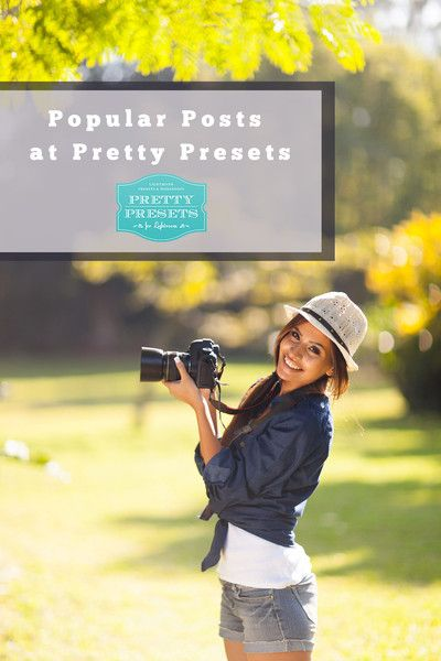 Top Pretty Presets Blog Posts, Freebies and More | Pretty Presets for Lightroom