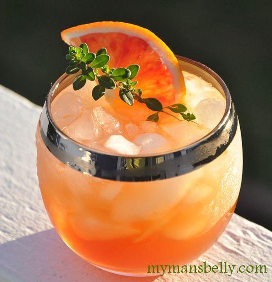 Blood Orange Cocktail RecipeOrange Recipe, Orange Slices, Blood Orange Margaritas, Bengal Cocktails, Tequila Sunris, Blood Orange Cocktails, Orange Juice, Cocktails Recipe, Bengals Recipes