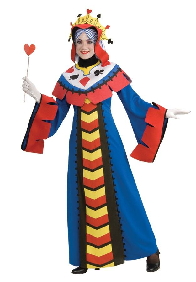 playing card queen adult womens costume - Board Games Halloween Costumes