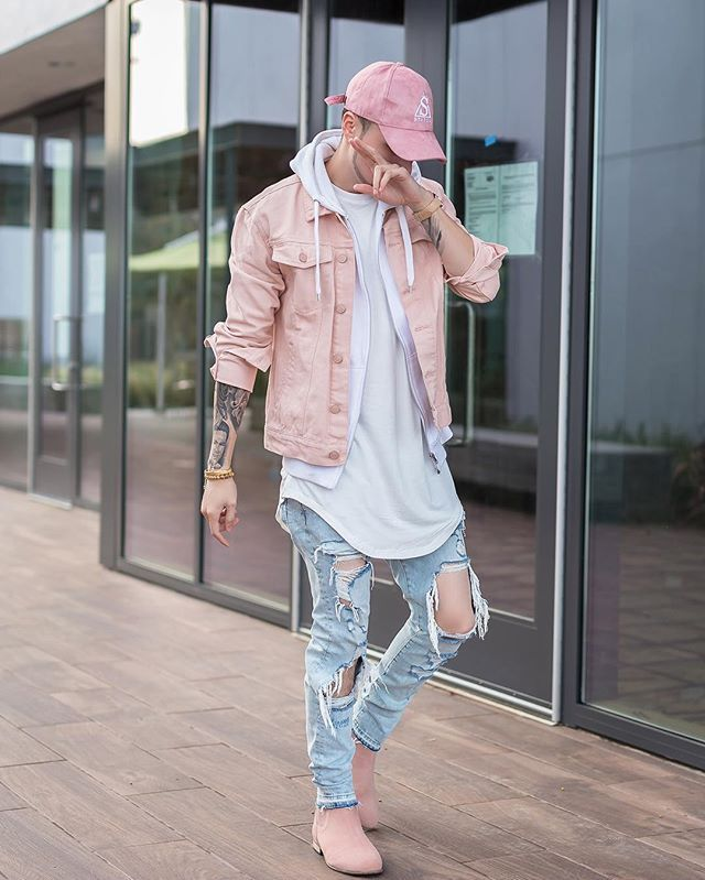 WEBSTA @ rolandmichaud -  Tone Rose suede hat @allaboutstatus check out their dope hats at www.allaboutstatus.com || Denim jacket @forever21men || Boots @urbanoutfitters