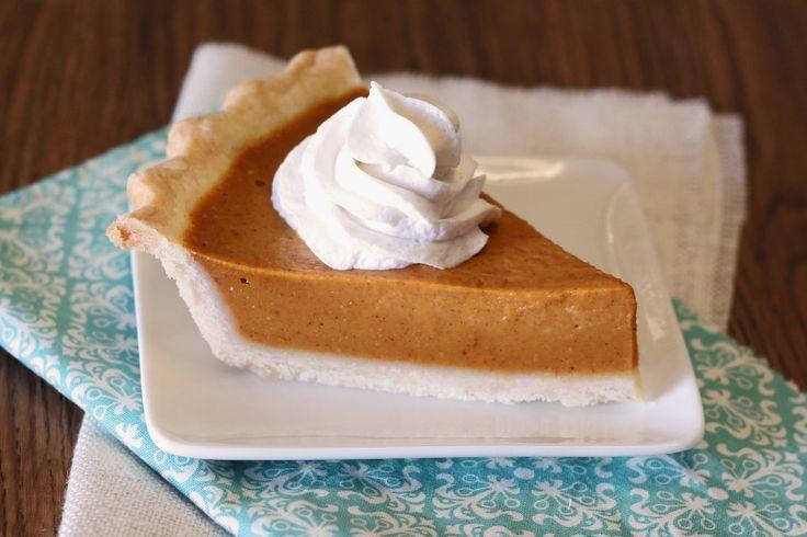 classic pumpkin pie - no eggs or wheat