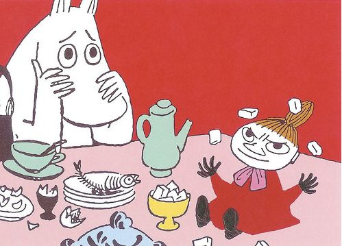 Moomin: Moomin illustrations.