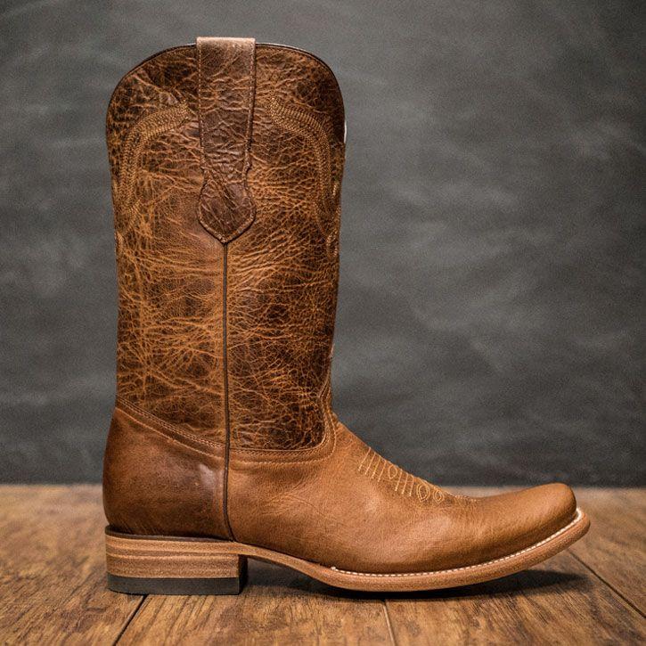Ruidoso Men's Buffalo Western Boots - Tan