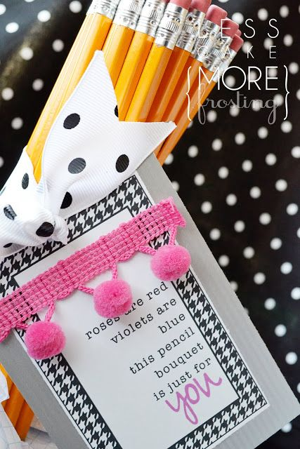Teacher Appreciation-Pencil Style | less cake {more frosting}