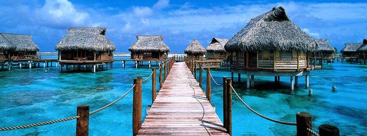 The Tikehau Pearl Beach Resort, Tikehau Island, Tuamotu Islands, French Polynesia. #travel #hotels #unique