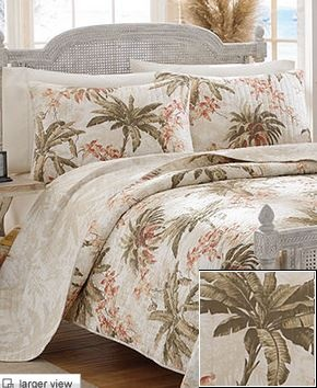 Tommy Bahama Bedding We Have Now... So Pretty :). Twin QuiltQuilt BeddingBedroom  Decorating IdeasTommy ...
