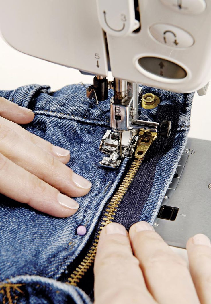 How to replace a broken jeans zipper | Threads