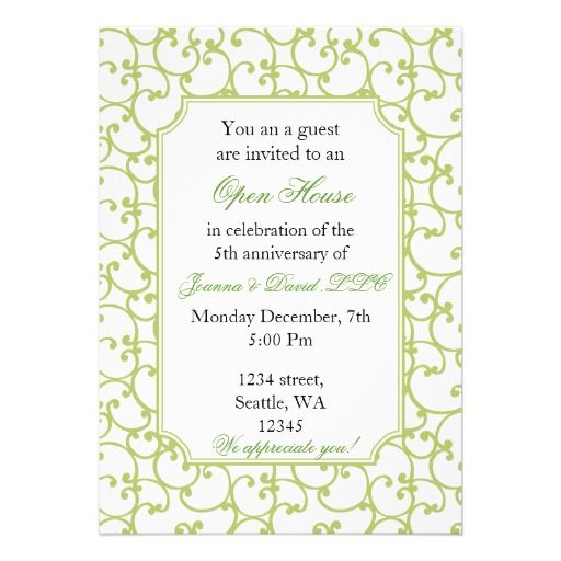 21 best open house invitation wording images on pinterest elegant corporate party invitation stopboris Choice Image