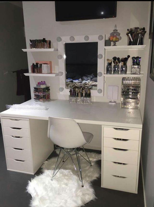 794 best Diva Beauty Room images on Pinterest Makeup rooms - küchenrückwand ikea erfahrungen