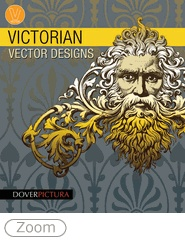 Lavishly detailed and embellished with floral motifs, interlocking vines, or mythical figures, this selection of authentic Victorian-era illustrations offers 200 Vector-based designs featuring a marvelous mix of banners, borders, scrollwork, frames, and more.