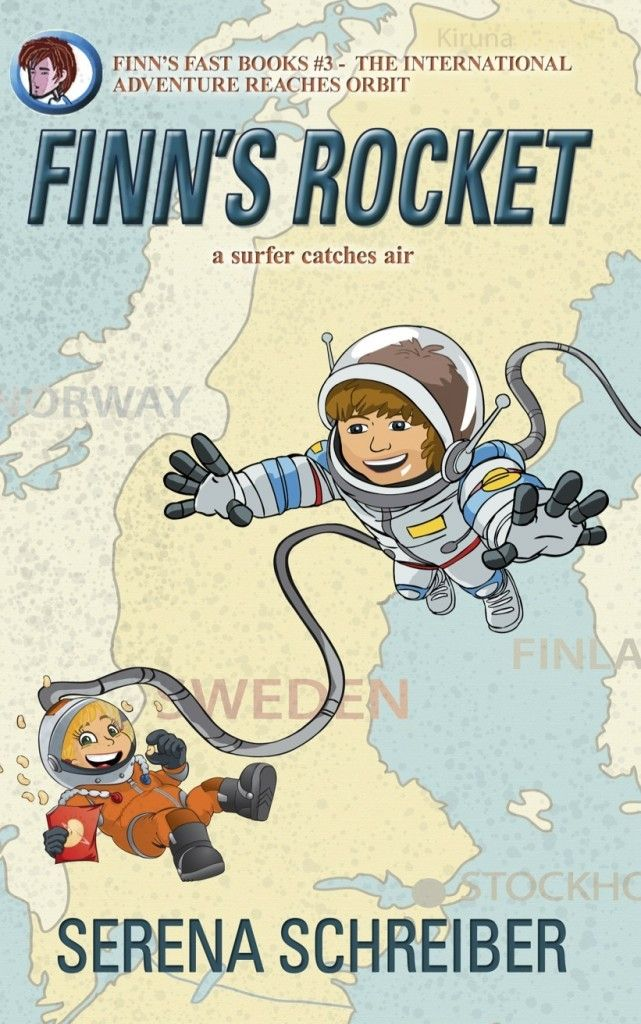 Mythical Books: Finn's Rocket: A Surfer Catches Air (Finn's Fast Books #3) by Serena Schreiber