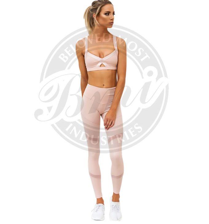 10fd22a0bf999 Women Clothing Two Piece Yoga Set Female Fitness Tracksuit Bra+Leggings  Sport Pants Women Suits